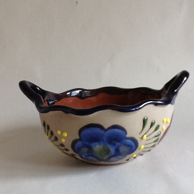 Vintage Handmade Pottery Bowl - Image 2 of 9