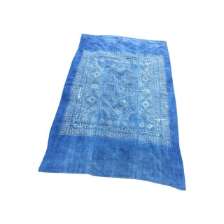 Tribal Hand Batik Linen Throw