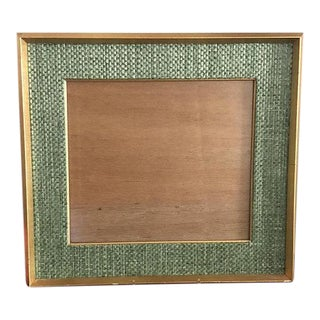 Handmade Square Gold Wood Frame