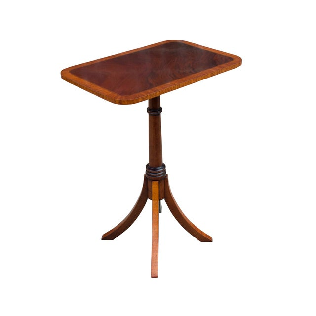 2010s English Traditional Mahogany Wine Table For Sale - Image 5 of 5