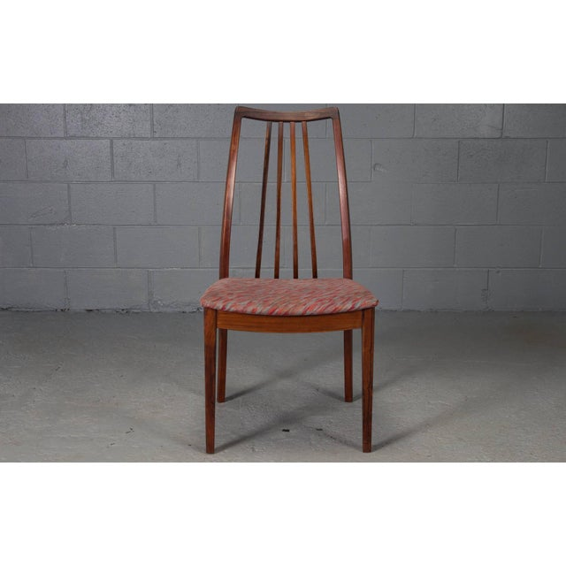 Danish Rosewood High Back Dining Chairs- Set of 4 For Sale - Image 4 of 8
