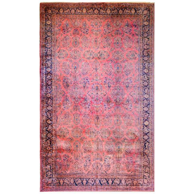 1920 Persian Kashan Rug For Sale - Image 9 of 9