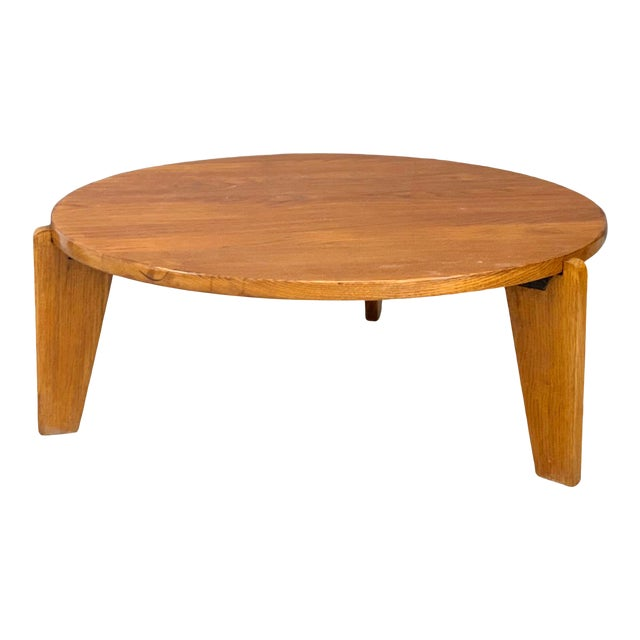 1950s Jean Prouvè Mid Century Coffee Table Series Africa For Sale
