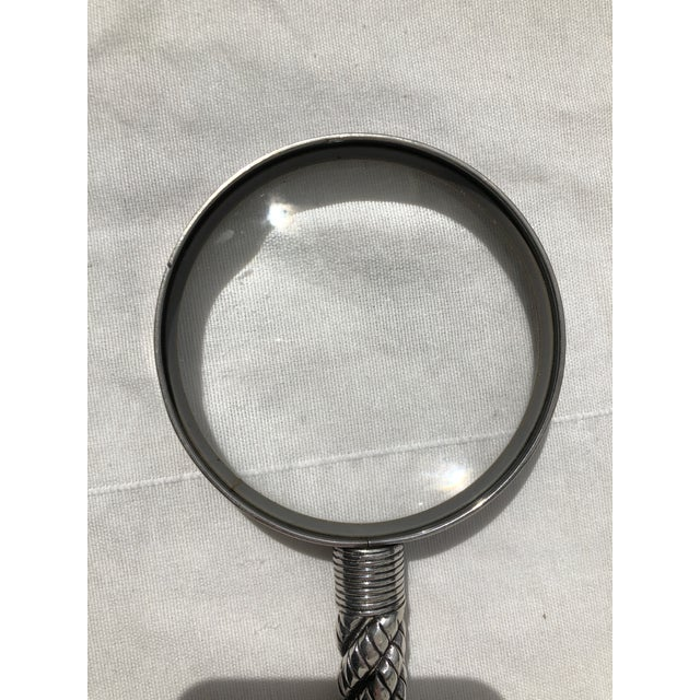 Mid 20th Century Vintage Hermès Magnifying Glass For Sale - Image 5 of 13