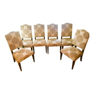 Ethan Allen Hadley Tapered Leg Side Chairs - Set of 6