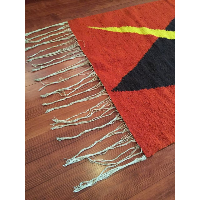 Tribal Accent Rug - 2′10″ × 4′9″ - Image 5 of 8