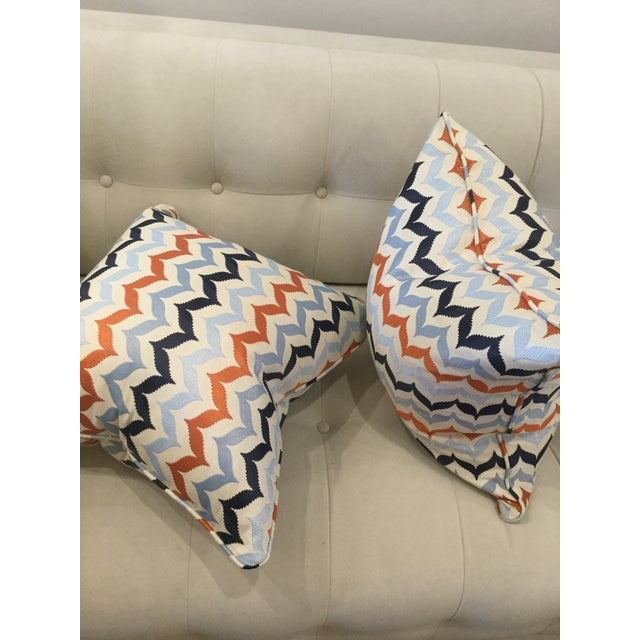 Kravet Andora Castaway Pillows - A Pair For Sale In New York - Image 6 of 7