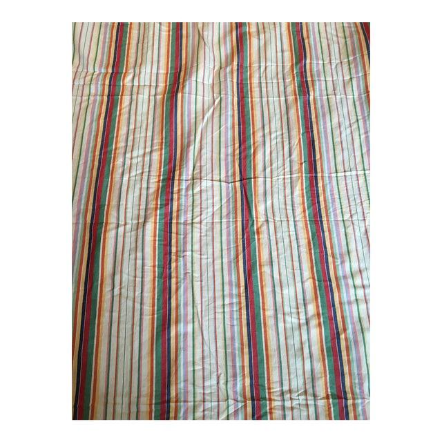 "Ralph Lauren ""Didier Stripe"" Cotton Linen Fabric - 7.5 Yards in 2 Pieces - Image 1 of 3"