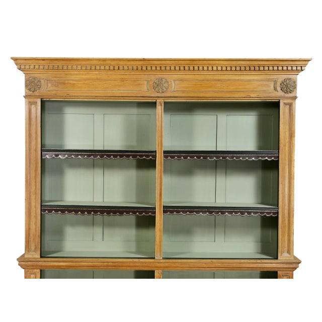George III Pine Bookcase For Sale - Image 4 of 12