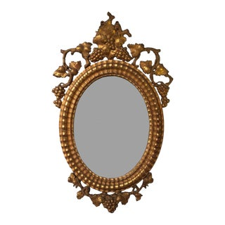 Pair of 19th C. French Giltwood Mirrors