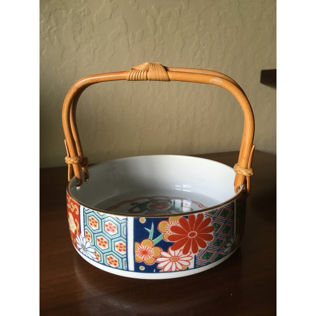Japanese Imari Porcelain Serving Dishes - Set of 3 For Sale - Image 4 of 13