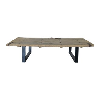 Rustic Chinese Coffee Table
