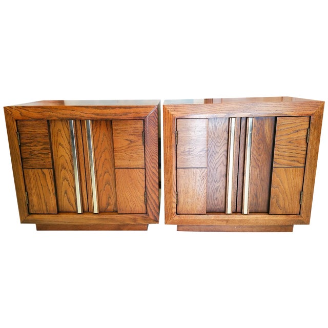 Lane Vintage Nightstands - A Pair - Image 1 of 5