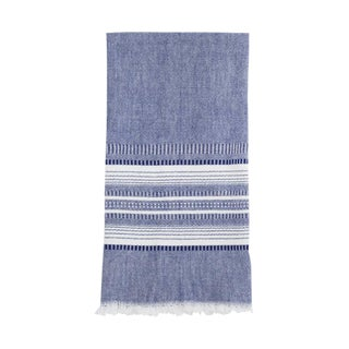 Indigo Chambray Kitchen Towel For Sale