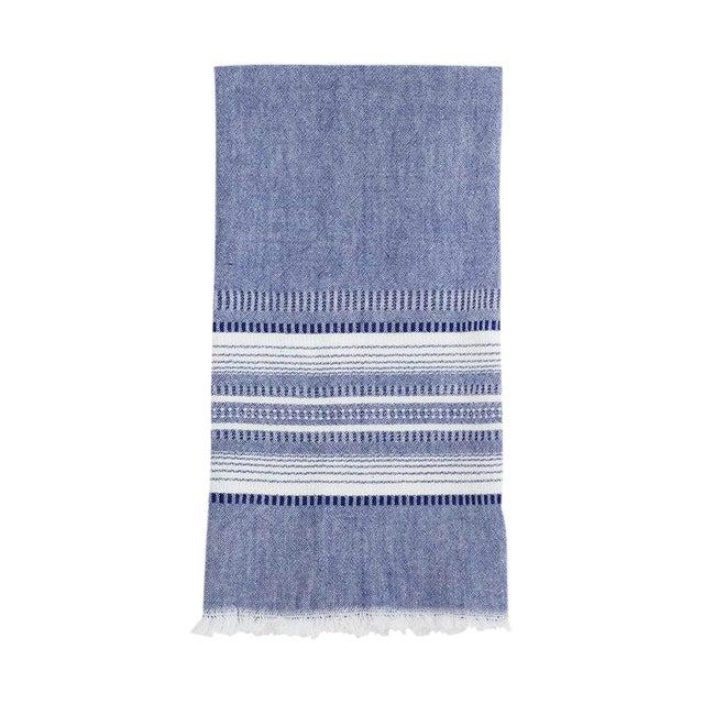 Image of Indigo Chambray Kitchen Towel