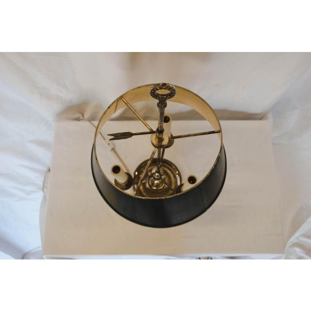 Metal French Bouilotte Lamp For Sale - Image 7 of 13