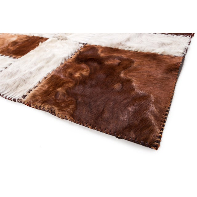 """Aydin Cowhide Patchwork Accent Area Rug - 6'0"""" x 6'7"""" - Image 9 of 9"""