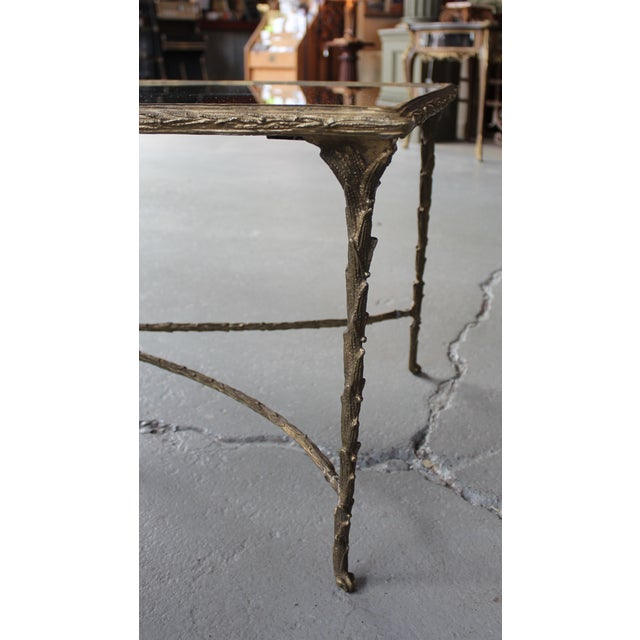 Maison Bagues Style Bronze Cocktail Table - Image 4 of 6