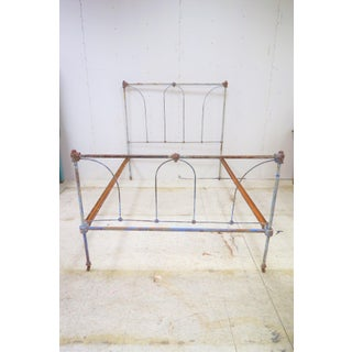 Antique Full Size Iron Bedframe Preview