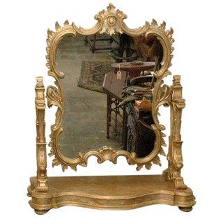 1910s Italian Swing Mirror/Dressing Table Mirror