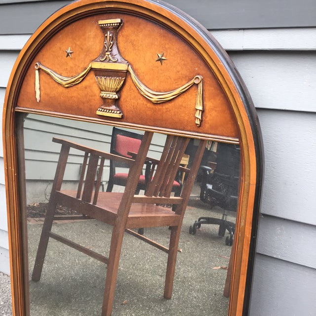 Vintage Wooden Mirrors - A Pair - Image 4 of 5