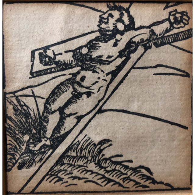 1593 Woodcut From Latin Book Attr. Nuremberg Chronicles For Sale In New York - Image 6 of 6