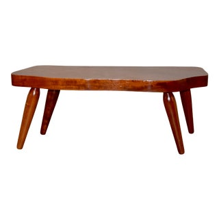 Cherry Cocktail Table, Circa 1960 For Sale