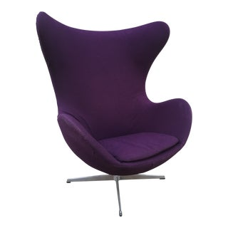 1970s Vintage Arne Jacobsen Egg Chair For Sale