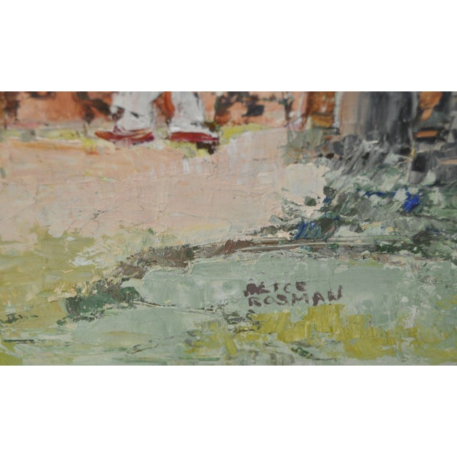 Vintage Oil Painting by Alice Rosman - Image 2 of 6