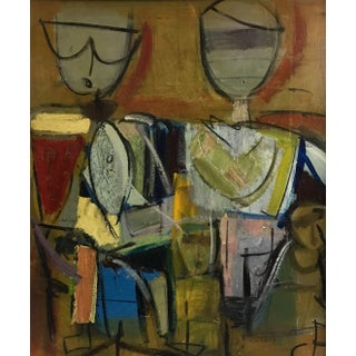 C P Figurative Abstract 1970-80 #19 For Sale