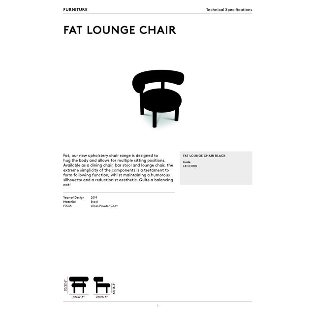 Tom Dixon Fat Lounge Chair For Sale In New York - Image 6 of 7