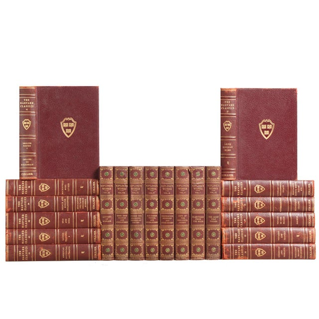 Garnet & Gilt Harvard Classics - Set of 20 - Image 1 of 2