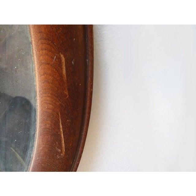 Antique Oval Frame Male Portrait - Image 3 of 4