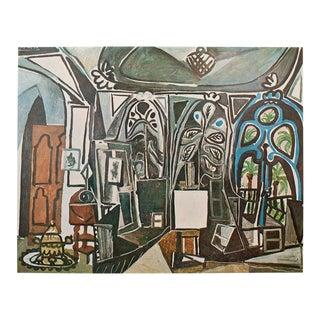 1971 Picasso Parisian Photogravure l'Atelier