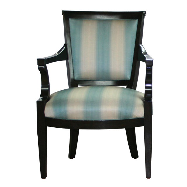 "Truex American Furniture ""Carlyle Armchair"" Available as a Pair* For Sale"