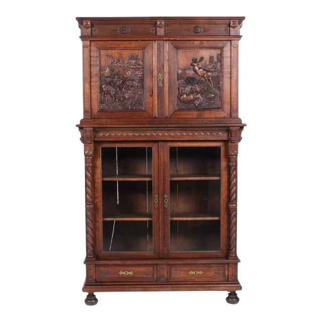19th-Century Black Forest German Cabinet - Image 1 of 11