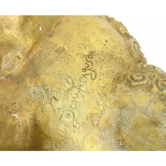 Metal DaNisha Dan Ferguson Bronze Ram Sculpture Limited Edition of 25 For Sale - Image 7 of 8