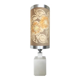 Monumental Italian Table Lamp With Shade