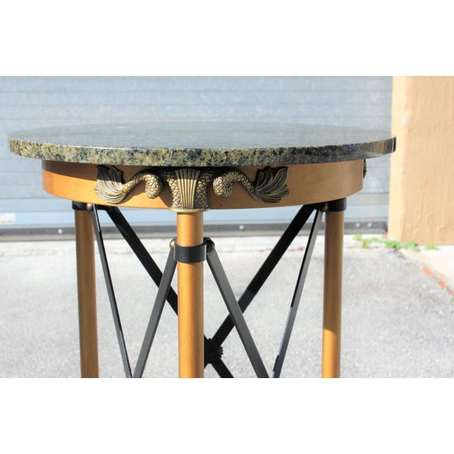 1920s French Neoclassical Bronze Side Tables - a Pair For Sale - Image 4 of 13