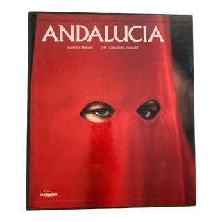 Andalucia Book by José Manuel Caballero and Ramón Masats Hardcover Book For Sale