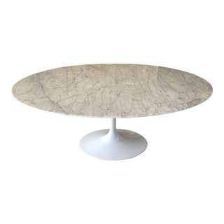 Replica Saarinen Oval Marble Dining Table