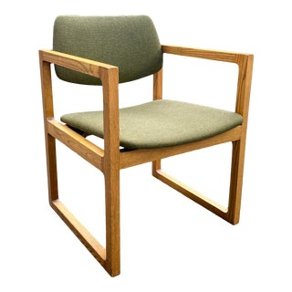 Vintage Mid-Century Edward Axel Roffman Box Chair For Sale