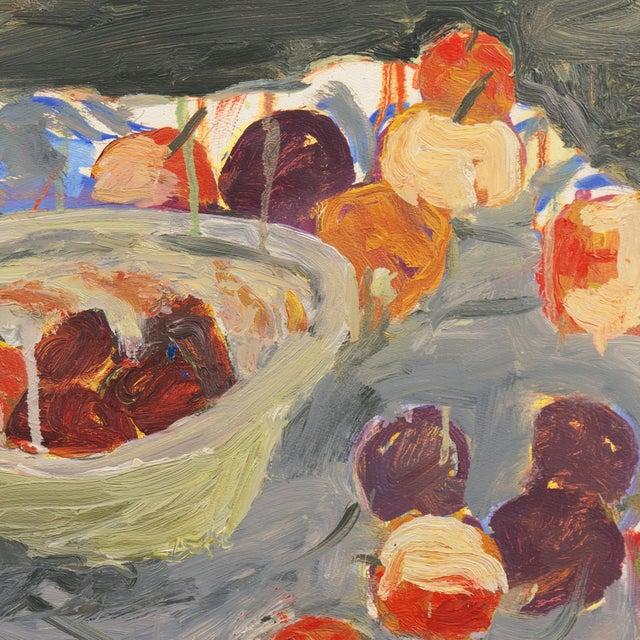 Paper 'Still Life With Plums' by Janet Ament De La Roch; Salon D'Automne, Paris, California Woman Artist, Lacma For Sale - Image 7 of 9