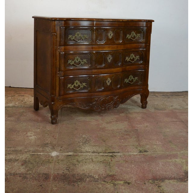 1970s Traditional Baker Commode For Sale - Image 4 of 6