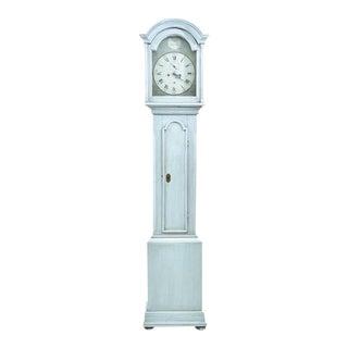 John Russell (Royal Clocksmith) Light Blue Longcase Clock