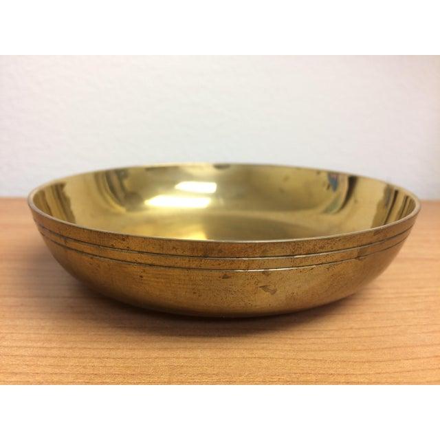 Brass Pierced Brass Lidded Trinket Box For Sale - Image 7 of 8