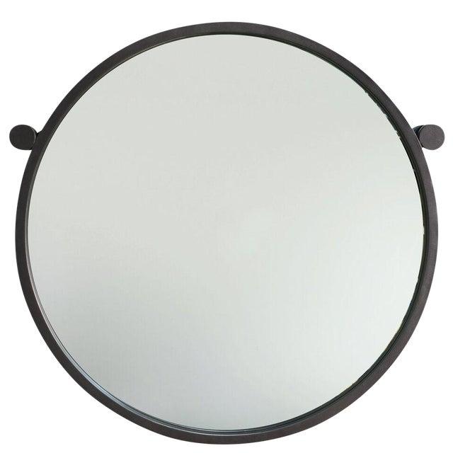 Sarreid Ltd Metal Hanging Mirror For Sale