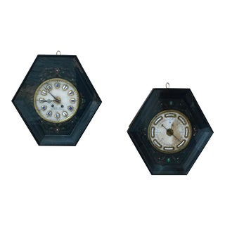 Napoleon III Clock and Barometer Set For Sale