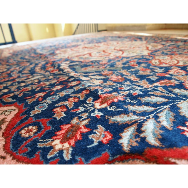 1920s Antique Persian Tabriz Rug- 6′4″ × 10′2″ For Sale In New York - Image 6 of 10