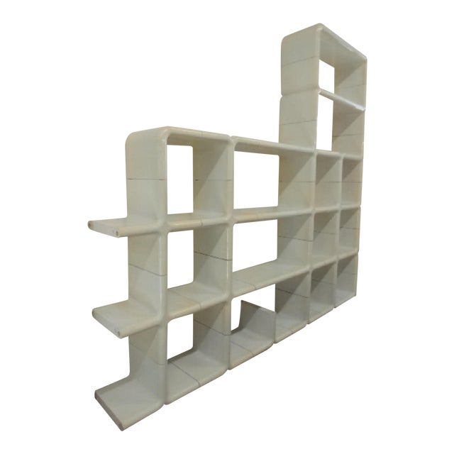 Final Markdown Kay Leroy Ruggles for Directional 1970 Umbo Modular Shelving For Sale
